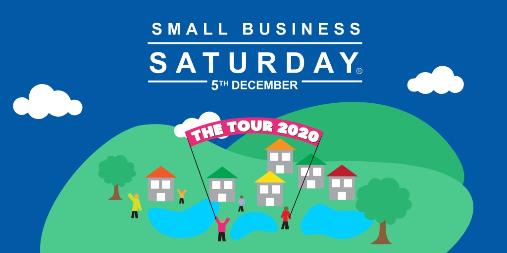 Small Business Saturday - The Tour 2020 graphic